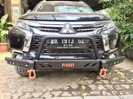 Pajero Sport All New BUMPER DEPAN FOREST ROCKY BAR PAJERO SPORT ALL NEW 7 img_20180903_wa0034