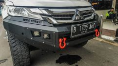 Pajero Sport All New PALANG DEPAN WILD FOREST ALL NEW MITSUBISHI PAJERO SPORT TAS4X4 palang depan wild forest all new mitsubishi pajero sport tas4x4 1