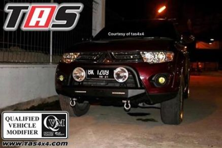 Pajero Sport All New BUMPER WILD FOREST U BAR PAJERO SPORT TAS4X4<br> 2 wild_2